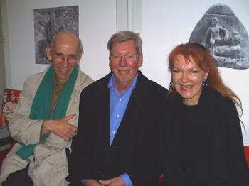 Willem van Batenburg, Ole Ege und Manon des Gryeux im Moviemento Kino