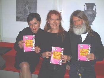 Susanne Sachsse, Manon des Gryeux und Charles Lum - die Jury