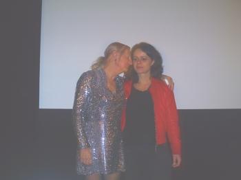 Claudette und Sylvie nach dem Film